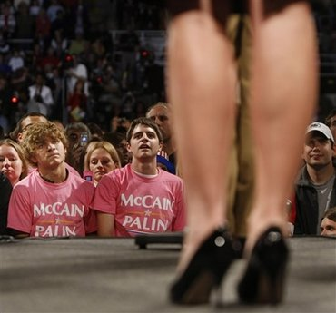 Sarah Palin Upskirt, Sarah Palin Legs, Sarah Palin in high heels, Sarah Palin in skirt